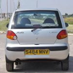 Rear of Daewoo Matiz