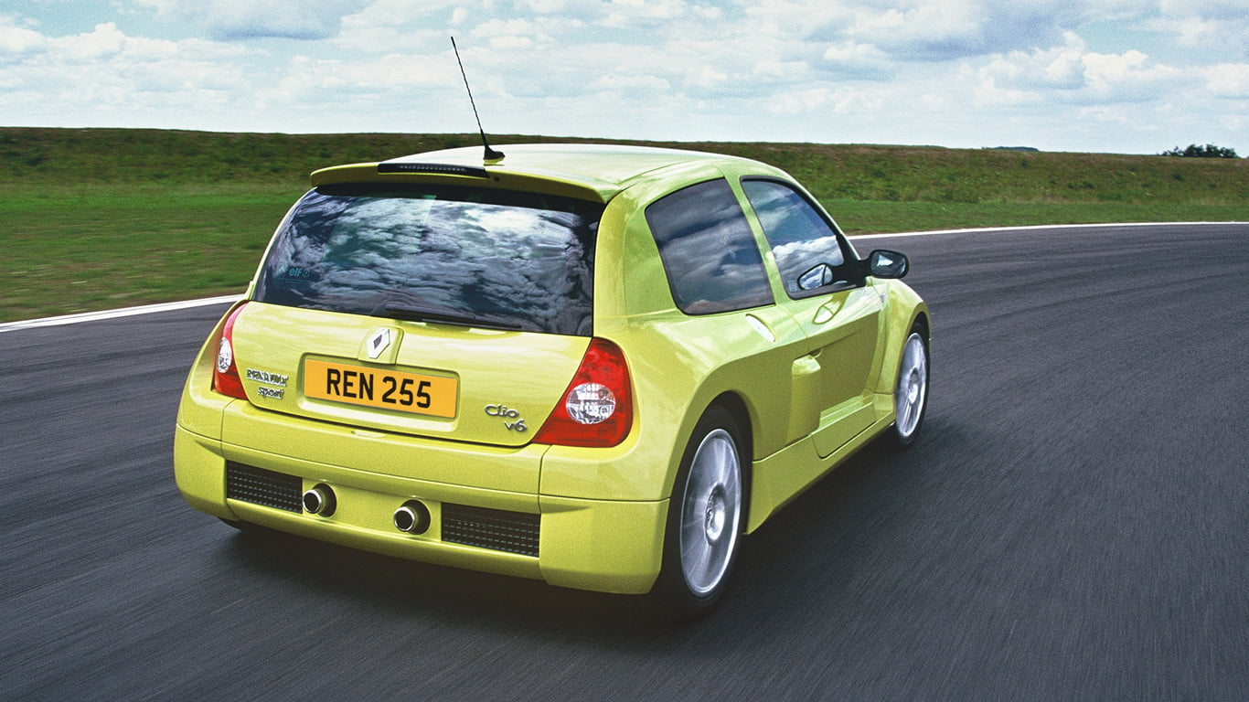 Rear of the Year - Renaultsport Clio V6