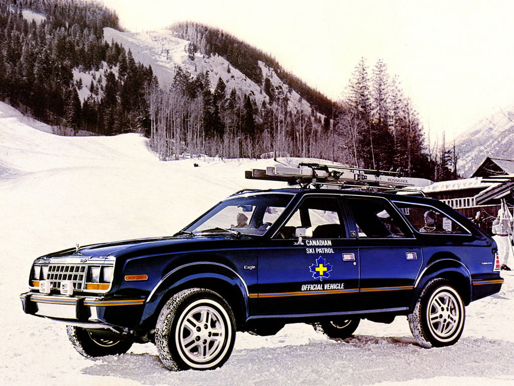 AMC Eagle Wagon Canadian Ski