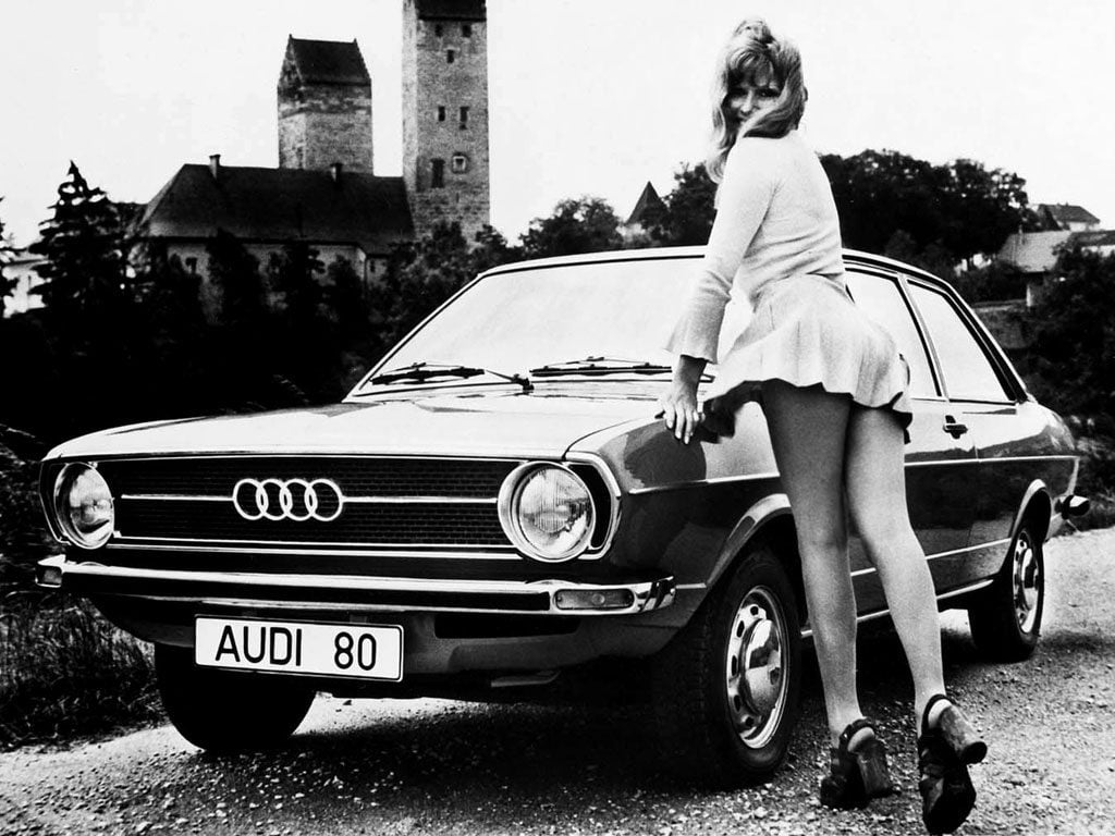 Audi 80 2-door saloon
