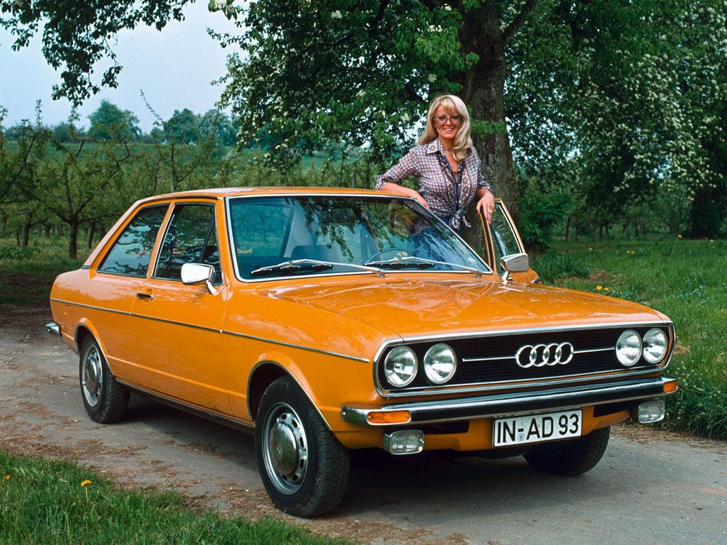 Audi 80 GL 2-door saloon B1
