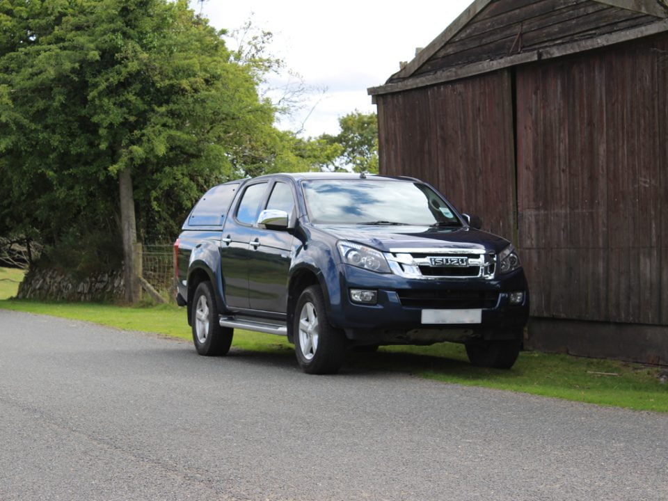 Isuzu D-Max Yukon road test