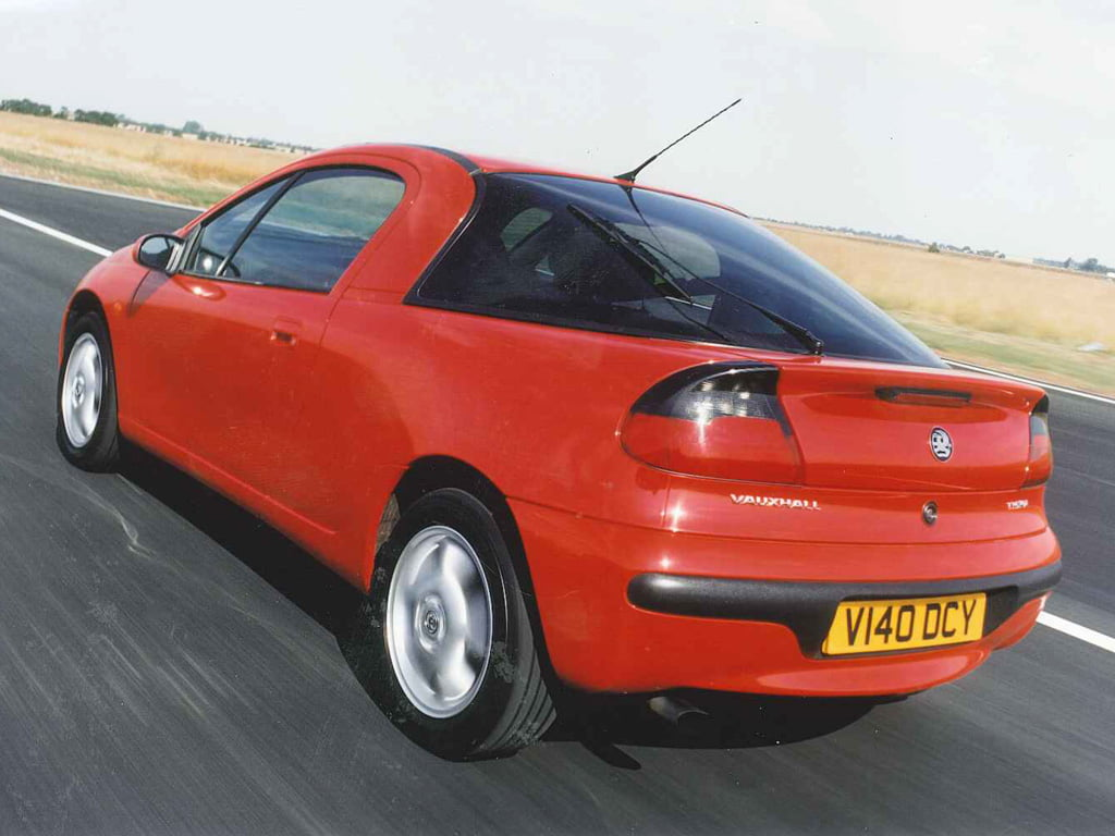 Red Vauxhall Tigra