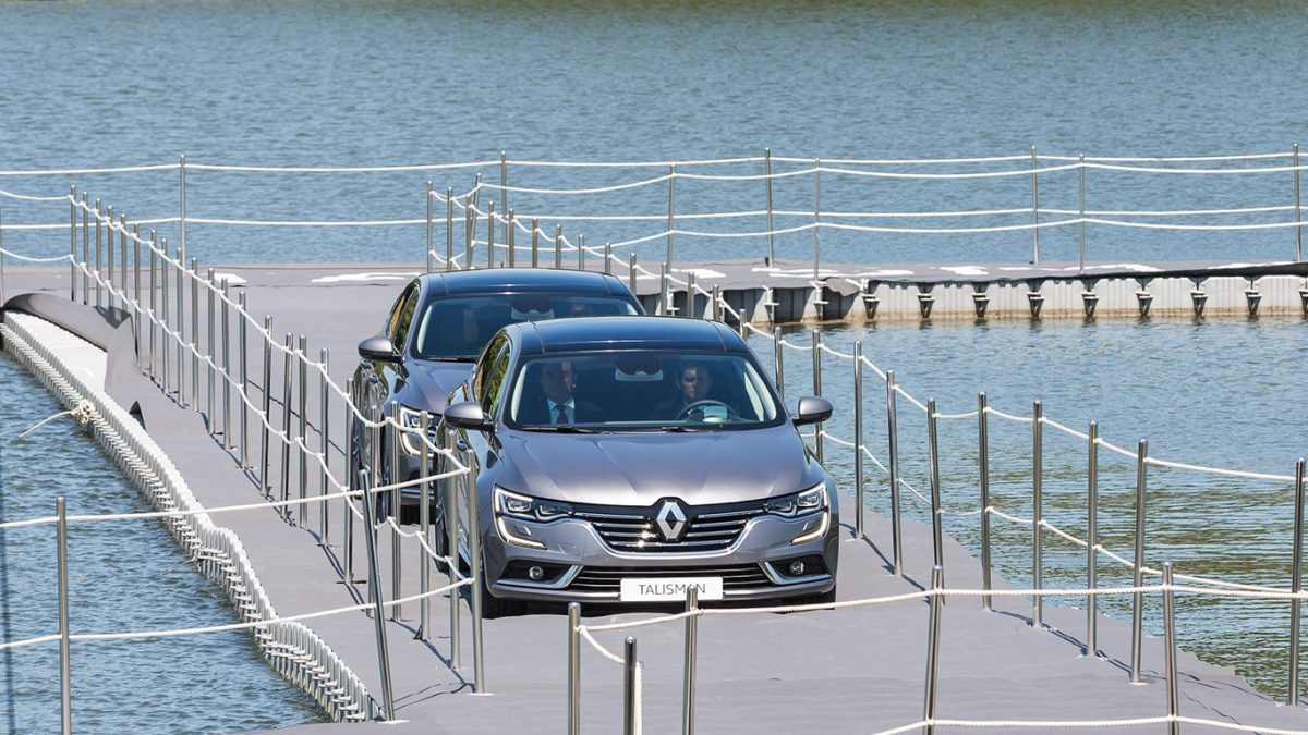 Renault Talisman launch in France