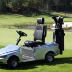 The C70-inspired Volvo golf cart