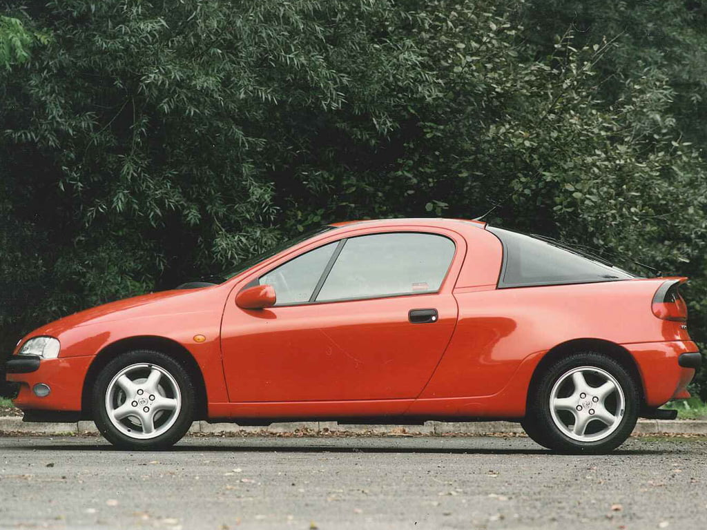 Vauxhall Tigra side profile