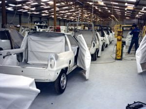 Volkswagen Polo Transfer at Gruau factory