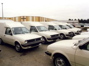 Volkswagen Polo Transfer at factory