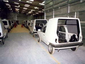 Volkswagen Polo Transfer being built