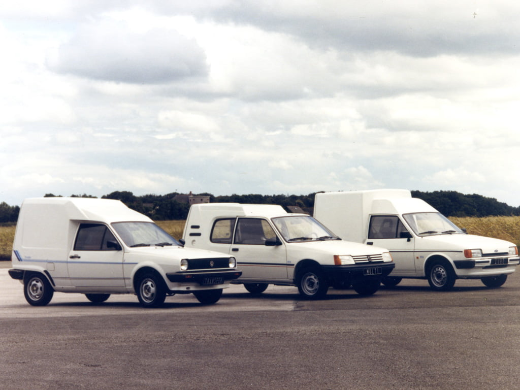 Volkswagen Polo Transfer with Peugeot 205 and Ford Fiesta