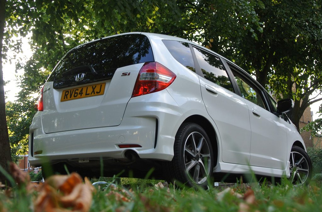 Rear of Honda Jazz Si