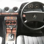 Mercedes-Benz W123 interior