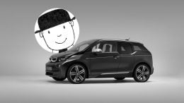BMW i3 Mr Benn