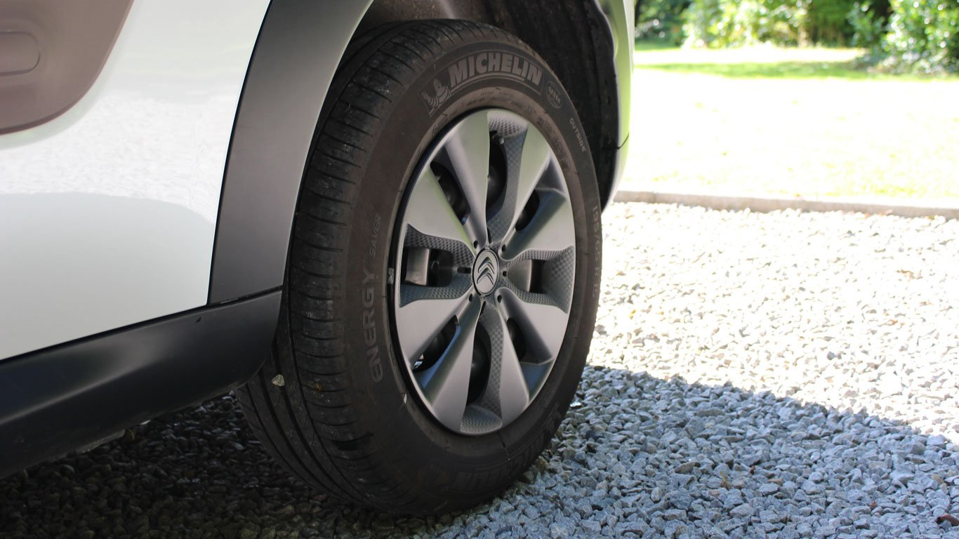 Citroen C4 Cactus steel wheels