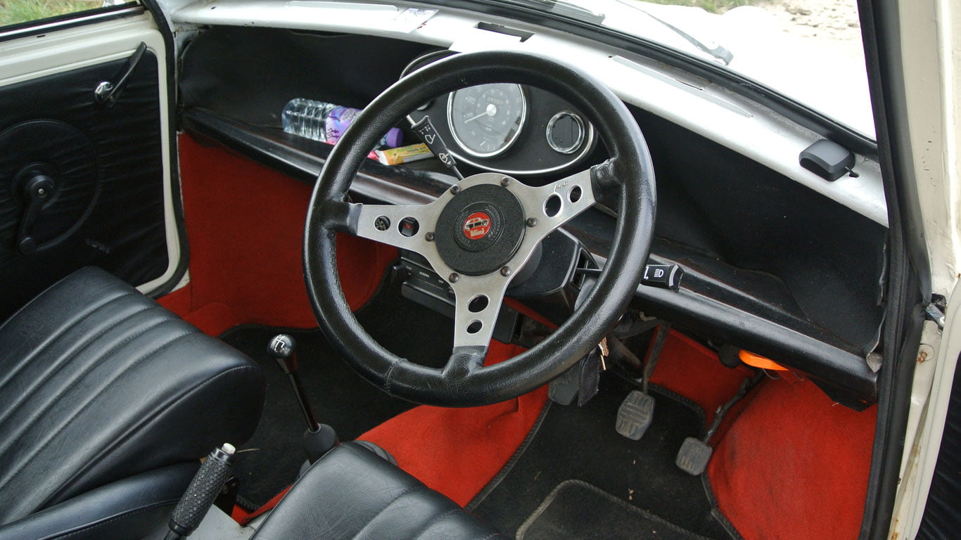Inside the Mini Cooperesque