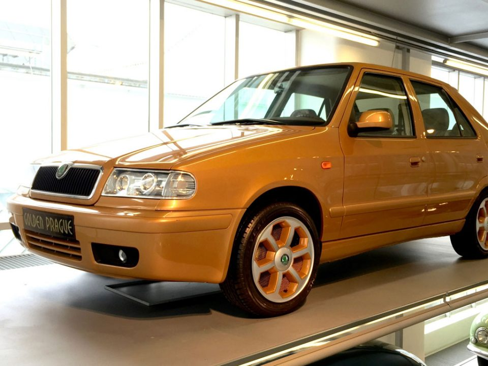Skoda Felicia Golden Prague