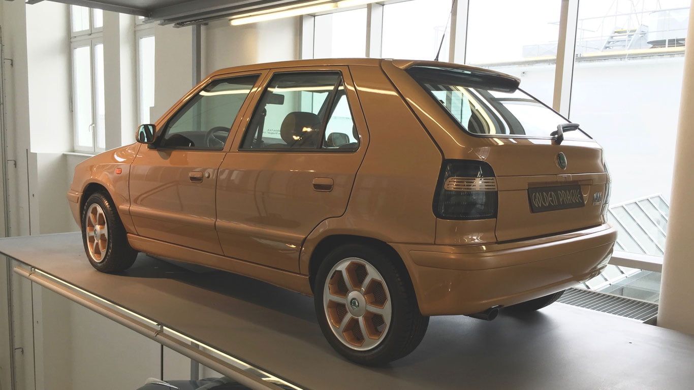 Skoda Felicia Golden Prague edition