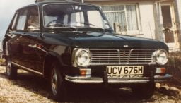 Renault 6 in Cornwall