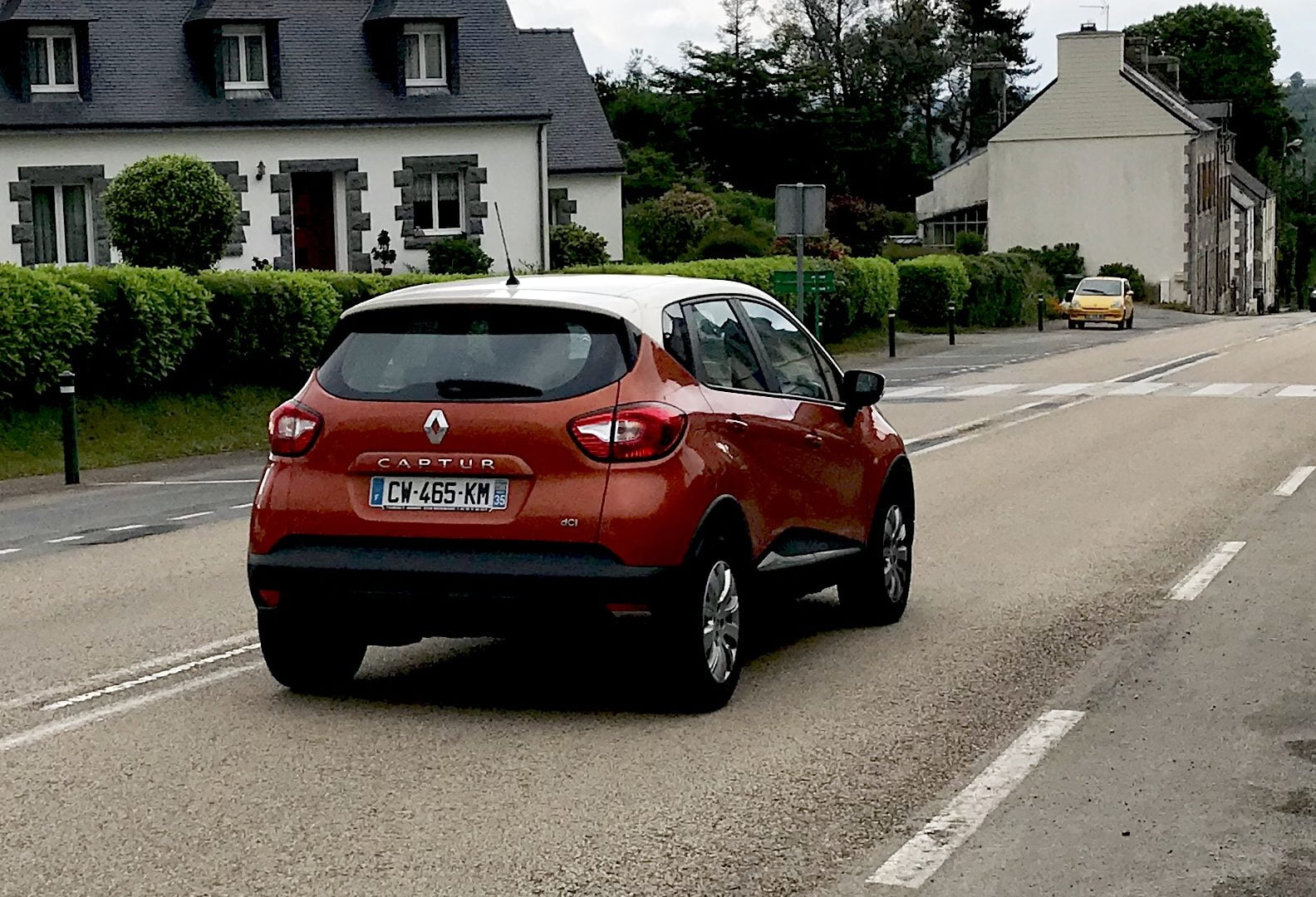 Renault Captur in Huelgoat
