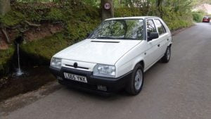 Skoda Favorit complete