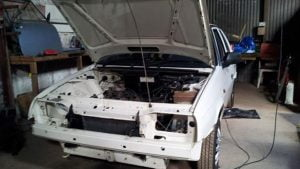 Skoda Favorit stripped