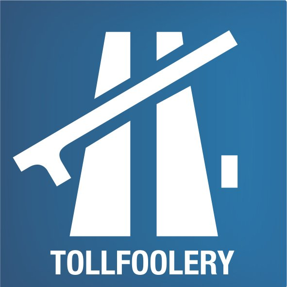 Tollfoolery sticker