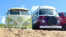 VW campers Cornwall