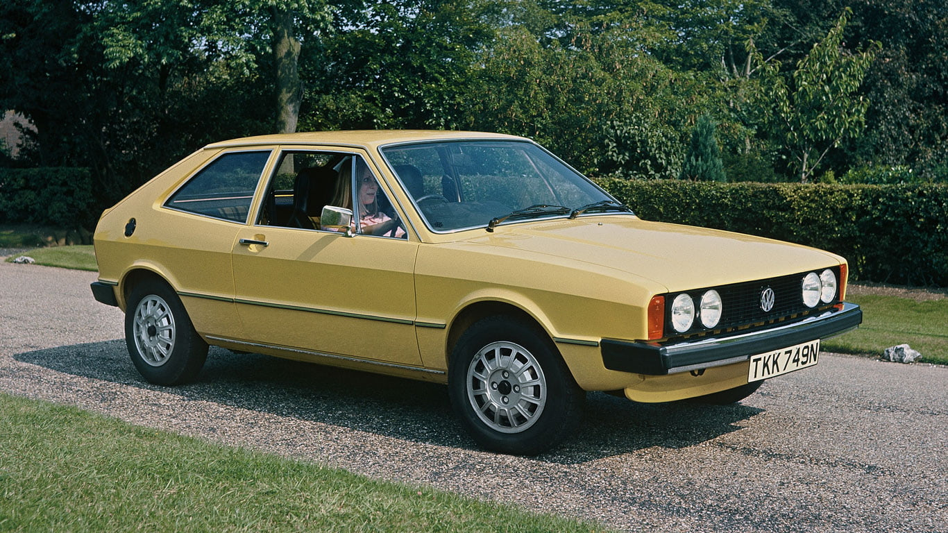 A very early Volkswagen Scirocco