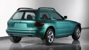 BMW Z1 Coupe green