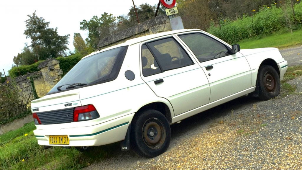Fin Frankly, we don't talk about the Peugeot 309 enough - PetrolBlog XK-83