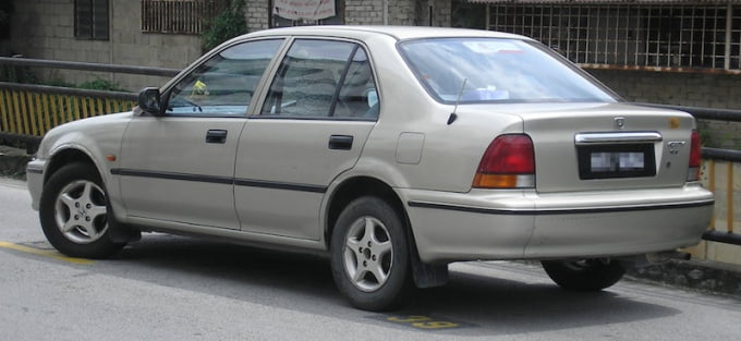 Honda City third gen