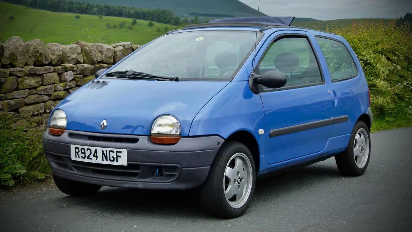 Mk1 Renault Twingo in blue