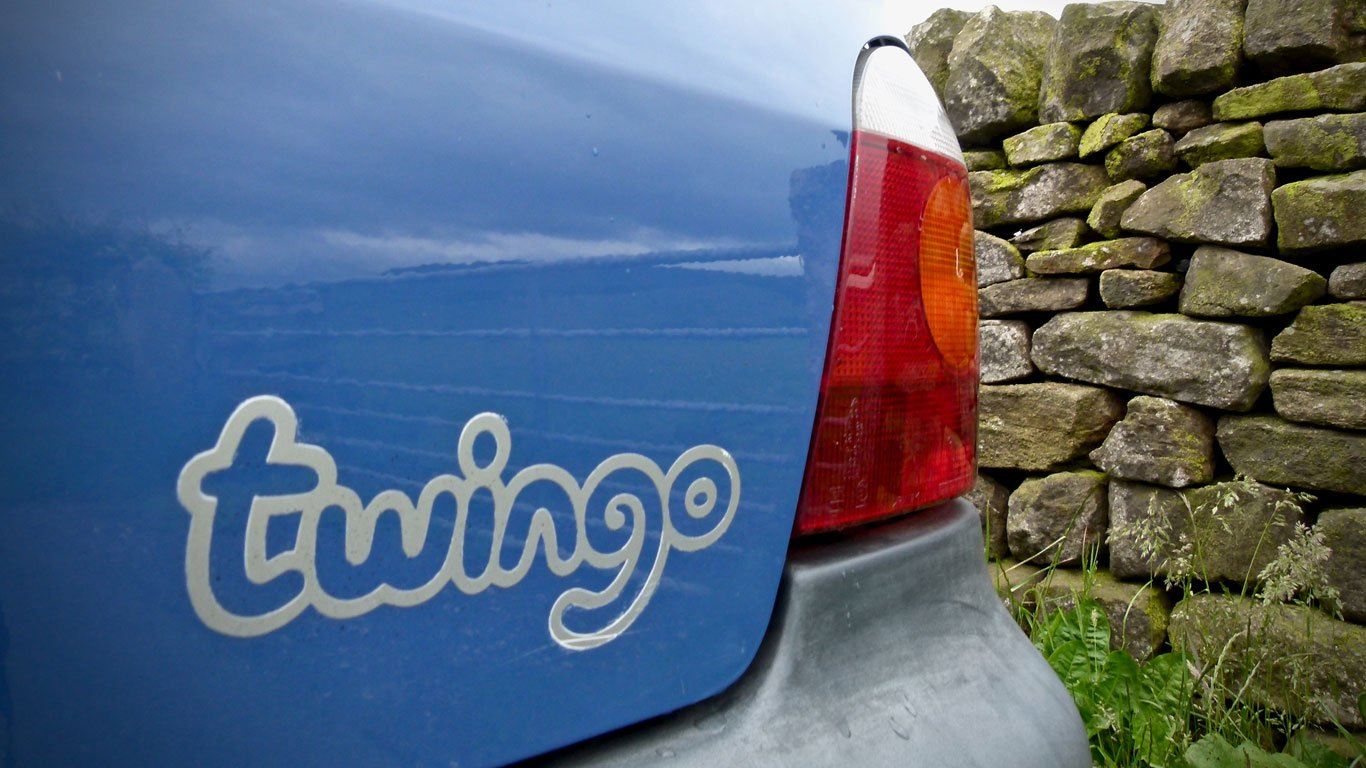 Mk1 Renault Twingo rear decal