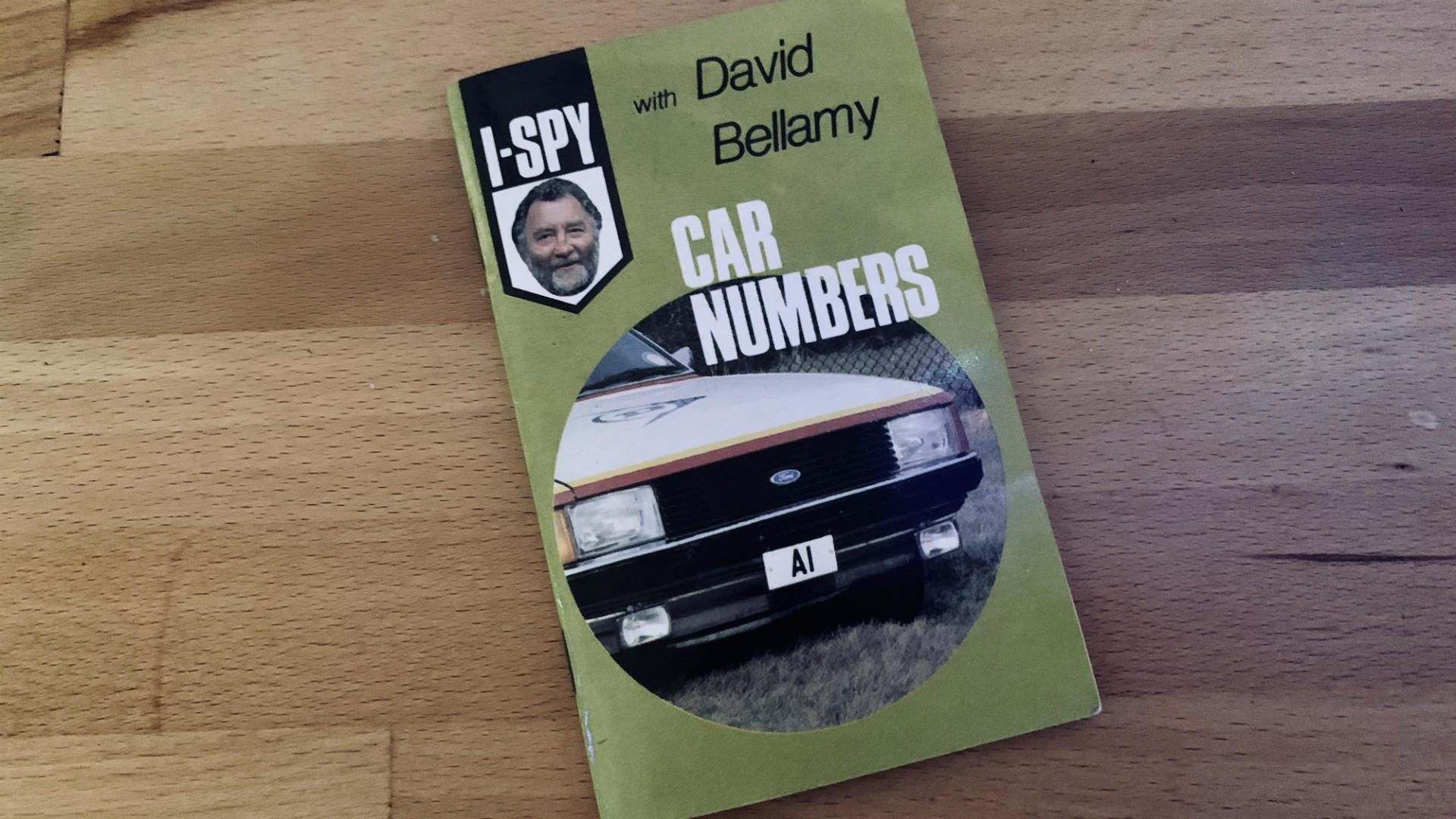 David Bellamy I-Spy Car Numbers