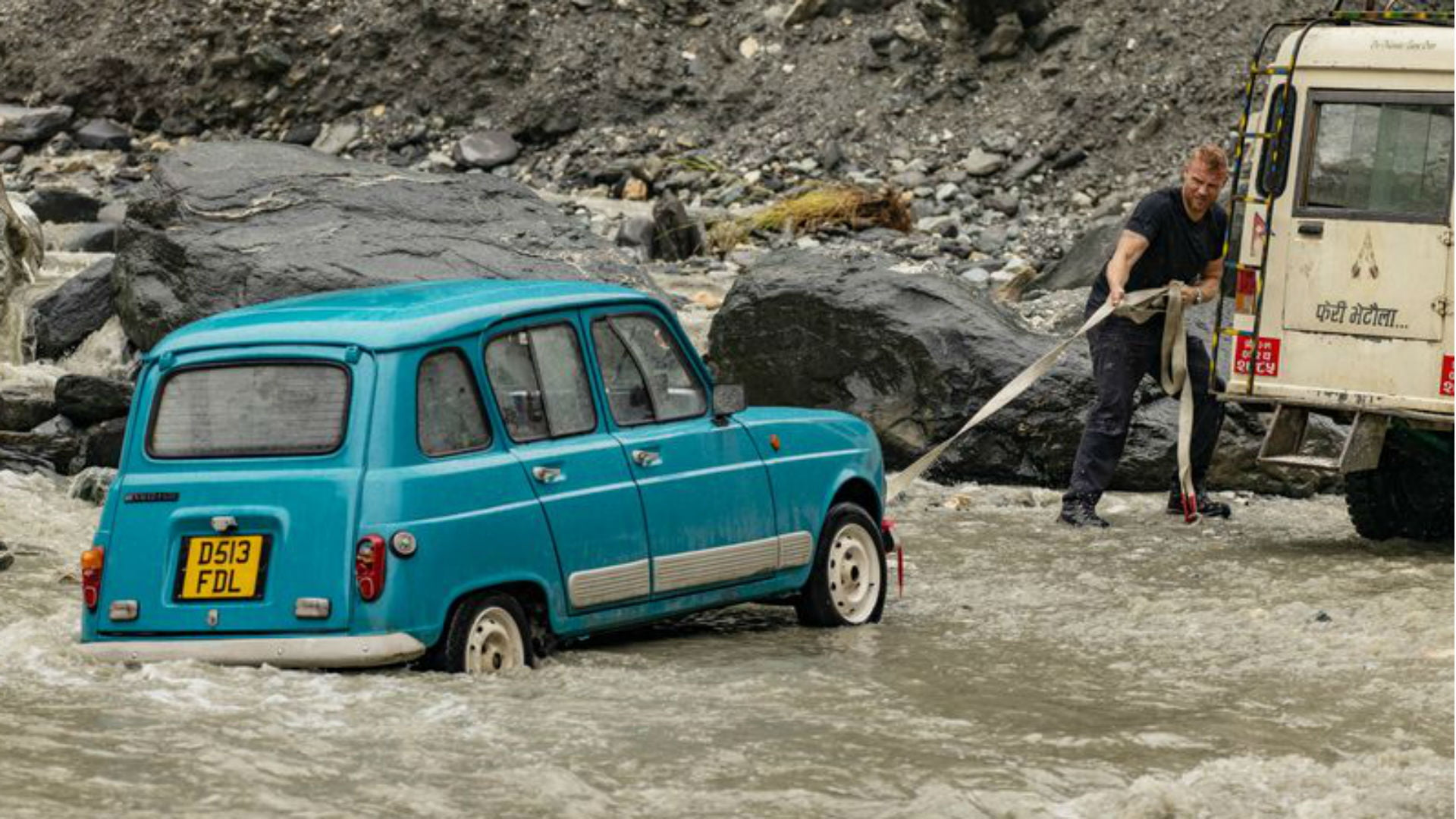 Renault 4 TL Top Gear Christmas Special