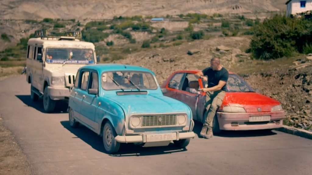 Renault 4 and Peugeot 106 Top Gear Christmas Special