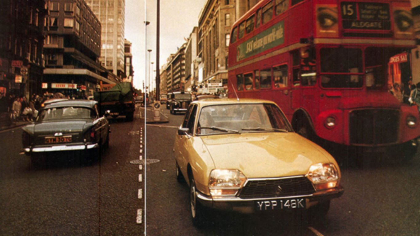 Citroen GS in London