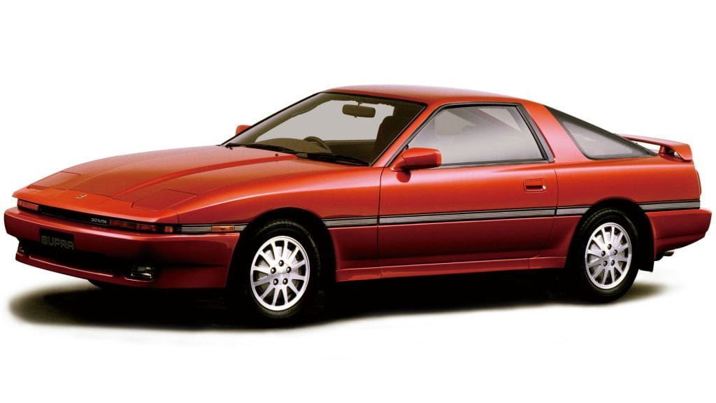 Toyota GR Heritage Parts Project for Supra