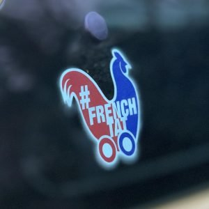 French Tat window sticker