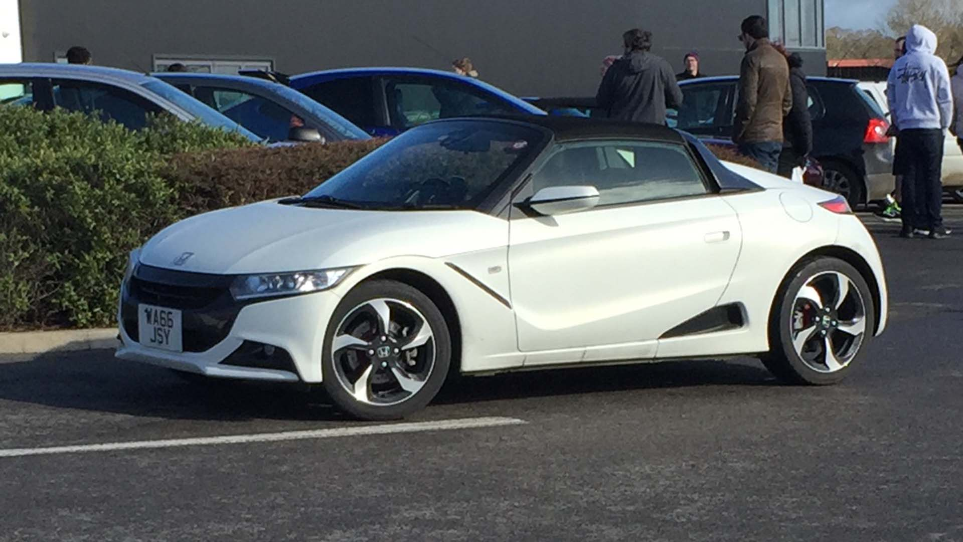 Honda S660 in the UK