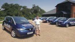 Nigel Taylor and the Renault Avantime fleet