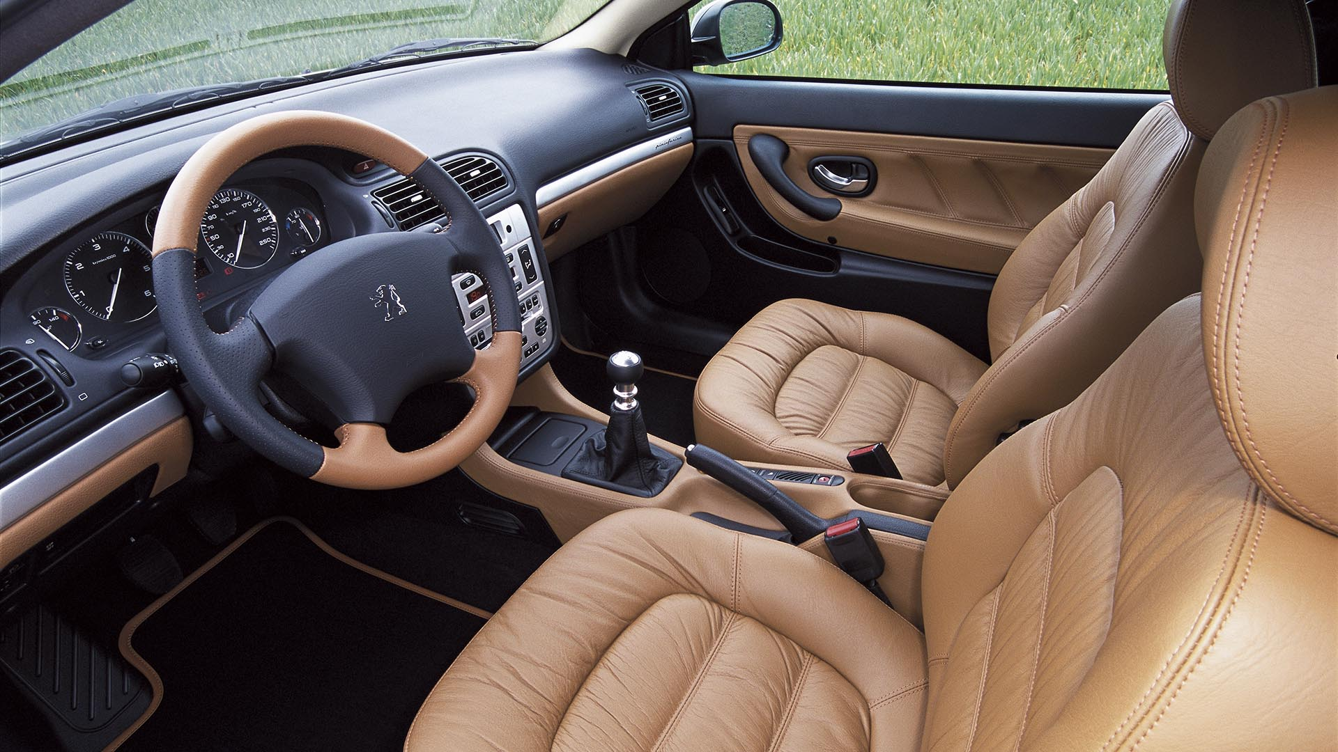 Peugeot 406 Coupe facelift interior
