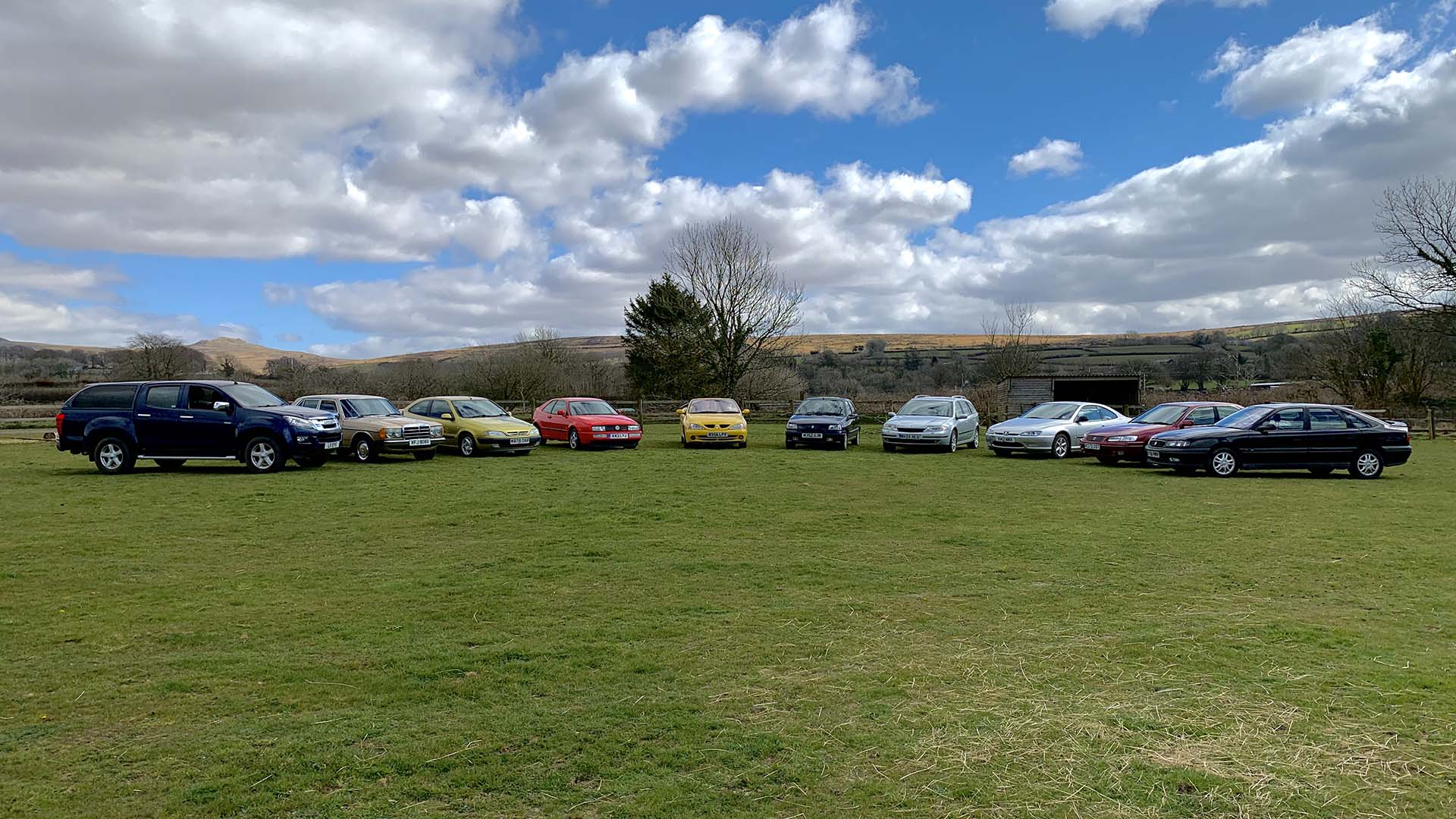 The PetrolBlog Fleet