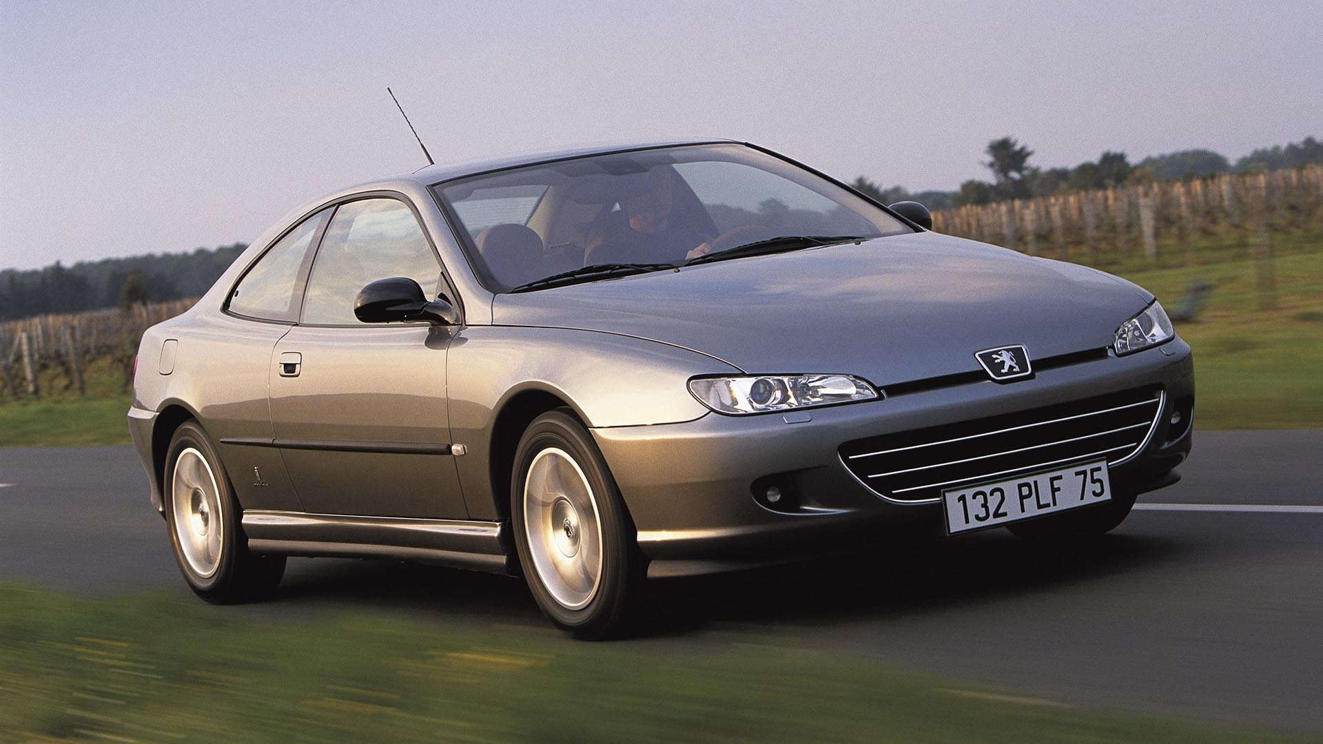The Peugeot 406 Coupe facelift