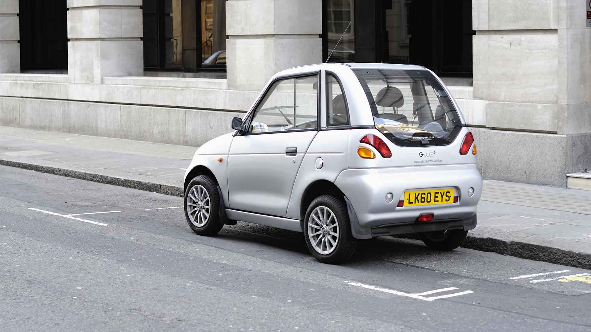 G-Wiz Electric Car in City of Westminster London