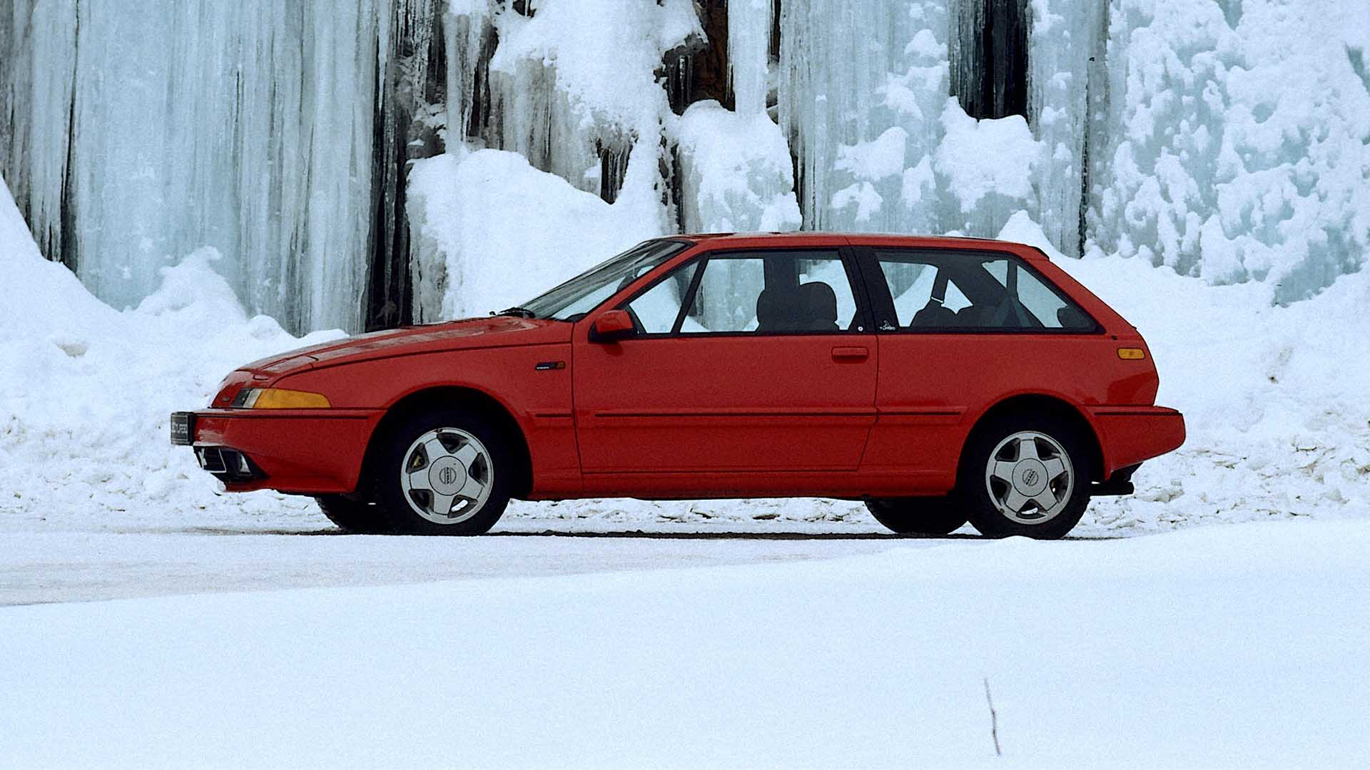 Volvo 480 Turbo snow