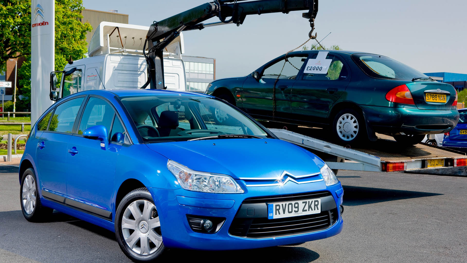 Citroen C4 and Ford Mondeo scrappage