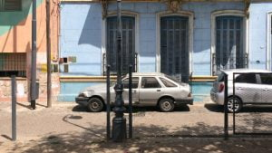 Ford Sierra on streets of Buenos Aires