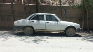 Peugeot 504 in South America