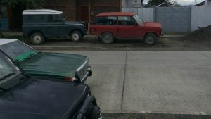 Range Rover Classic and Land Rover